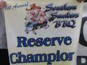 Reserve Champion